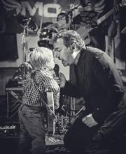 Steve & his son Roman